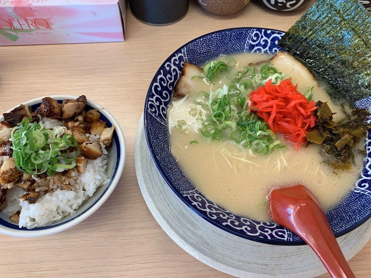 【三郷市食べ歩きブログ】三郷市大広戸にある「博多ラーメン鶴亀堂」へ