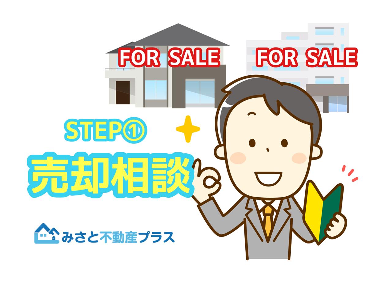STEP①売却相談