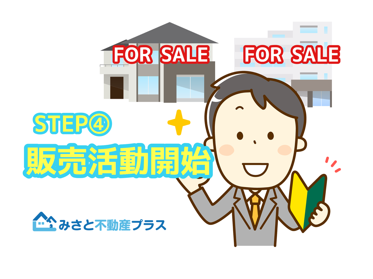 STEP④販売活動開始