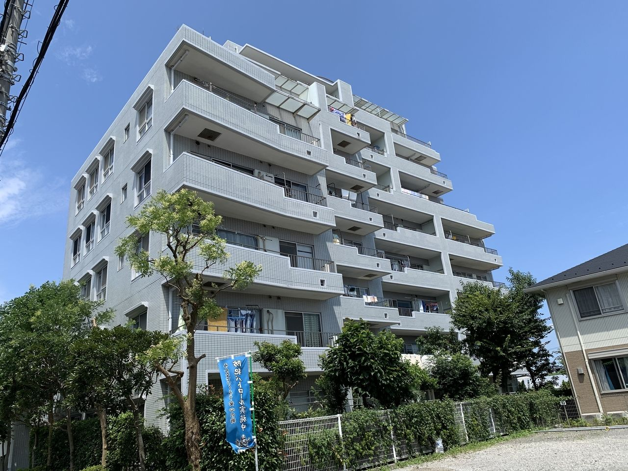 平成1年11月建築のマンション