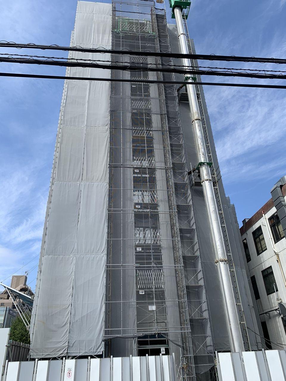 (情報更新)三郷駅南口にビジネスホテルが建設中♪今の状況は??