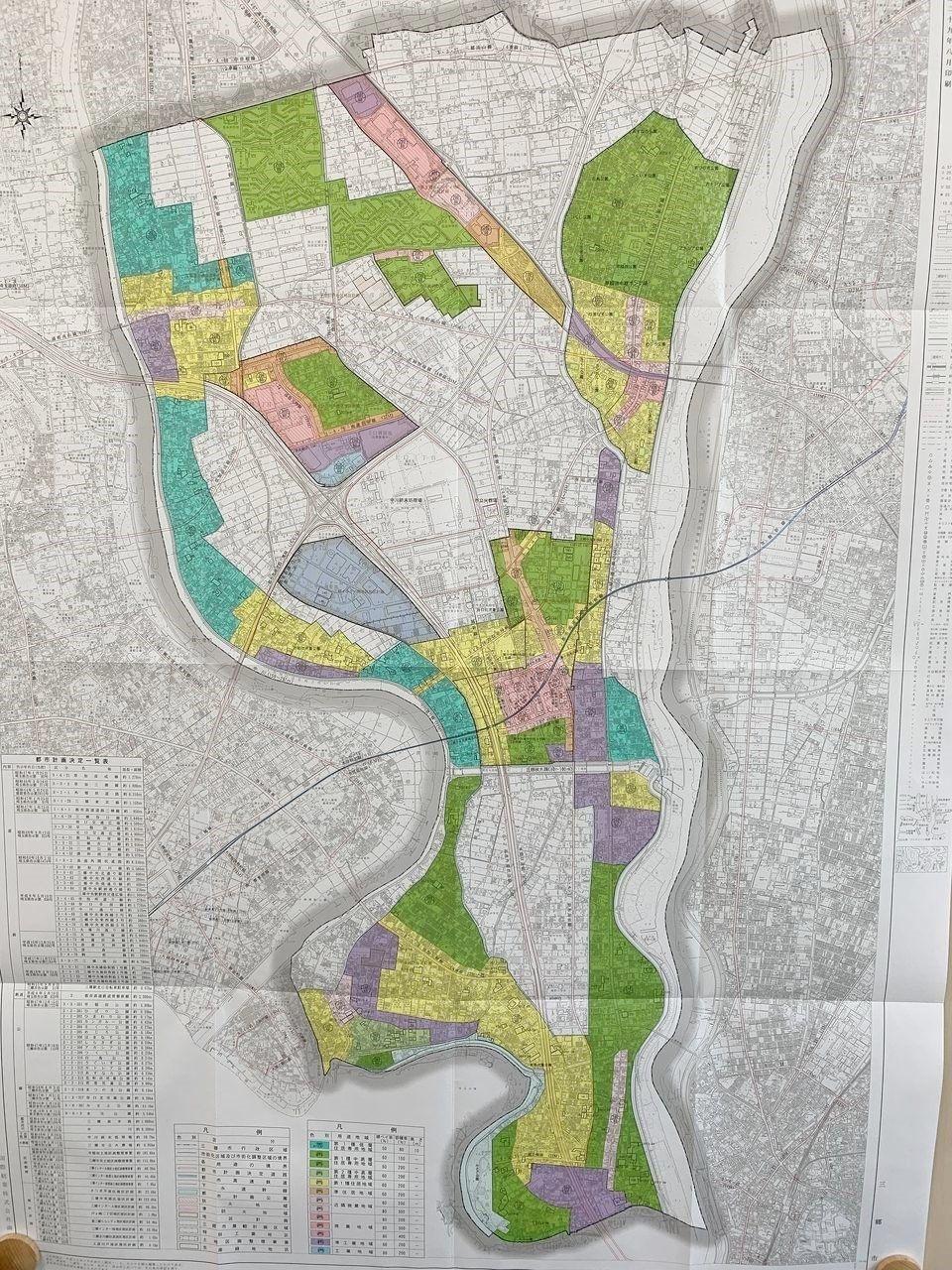 まだまだ市街化調整区域が多いのです